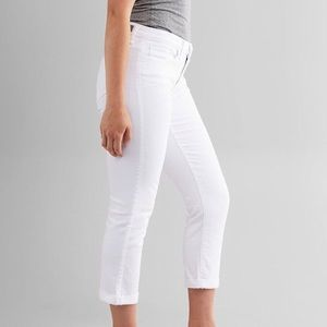 NWT BKE Payton cuffed stretch crop Jean Sz 31